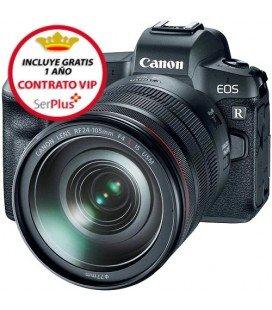 CANON EOS R + RF 24-105/F4 L IS USM + ADAPTADOR EF-RF + GRATIS 1 AÑO MANTENIMIENTO VIP SERPLUS CANON