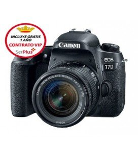 CANON 77D KIT DE INICIACION + REGALO KIT V-BLOGGING