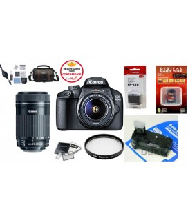 CANON EOS 4000D  PACK ADVANCED + KOSTENLOSE 1 JAHR WARTUNG VIP SERPLUS CANON