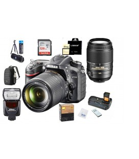 NIKON D7200 + 18-140 VR ADVANCED PACK