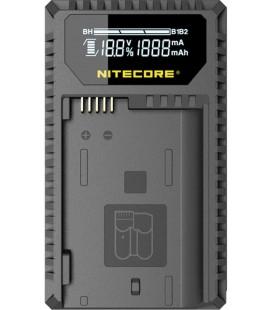 NITECORE UNK1 CARGADOR NIKON EN-EL14/14A/15 DUAL(2BATERIAS 1 USB)