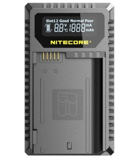 NITECORE UNK2 CHARGEUR NIKON EN-EL15 DUAL(2 PILES 1 USB)