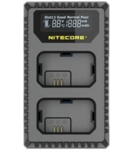 NITECORE USN4 PRO CARICABATTERIE SONY NP-FZ100 DUAL (2 BATTERIE 1 USB)