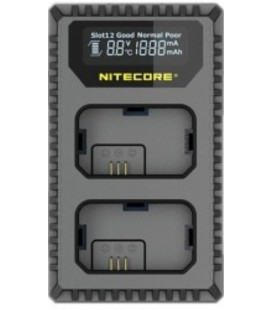 NITECORE USN4 PRO LADEGERÄT SONY NP-FZ100 DUAL (2 BATTERIEN 1 USB)