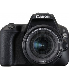 CANON EOS 200D NEGRO + 18-55 IS STM PACK BASICO