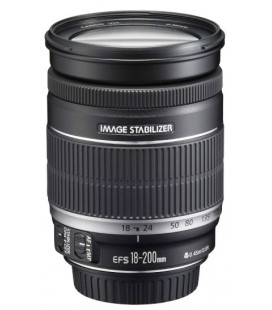 CANON EF-S 18-200mm f/3.5-5.6 IS + GRATIS 1 ANNO VIP MAINTENANCE SERPLUS CANON DI MANUTENZIONE VIP