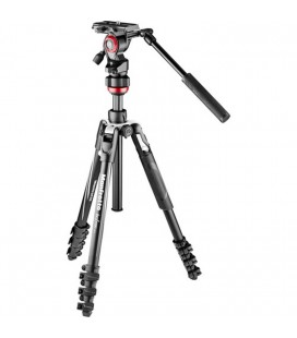 MANFROTTO BEFREE LIVE Aluminum VIDEO tripod with lock