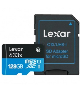 LEXAR MICRO SDXC 128GB 95 M / S + ADATTATORE SD
