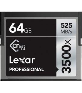 LEXAR TARJETA COMPACT FLASH C FAST 64 GB 525M/S