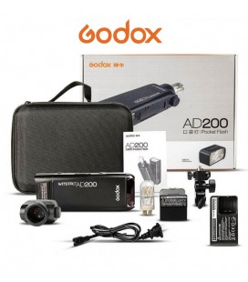GODOX AD200 200Ws 2.4G TTL HSS TTL HSS FLASH STUDIO FLASH