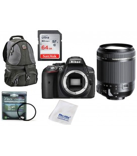 NIKON D5300 SUPER ZOOM PACK 18-270MM