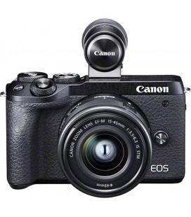 CANON EOS M6 MKII + EF-M 15-45 mm f / 3.5-6.3 IS STM + VISIONNEUR ÉLECTRONIQUE EVF-DC2