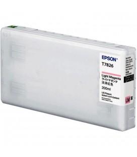 EPSON TINTA  MAGENTA LIGHT PARA D700 - 200ML