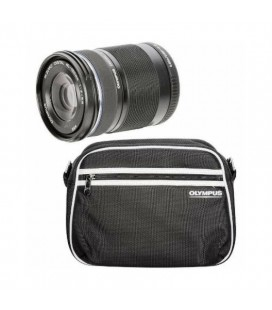 OLYMPUS M.ZUIKO ED 40-150MM R SCHWARZ TRAVEL KIT + CASE