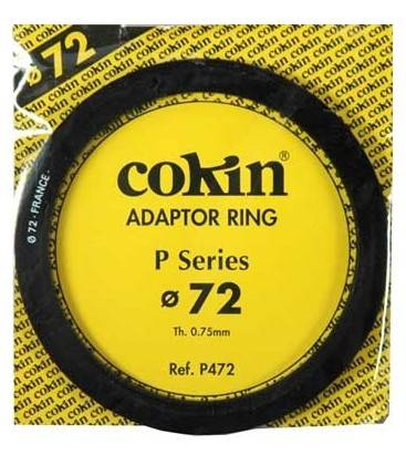 COKIN RING ADAPTER P SERIES 72 MM.