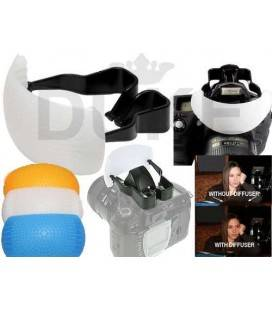 PHOTTIX DIFUSOR FLASH POP-UP DE 3 COLORES